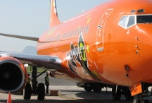Marvelous Mango / If you see something orange zooting away in the sky, don't panic - it's probably Mango Airlines.  I love our colourful airliners in South Africa.   We do a LOT of Mango Airlines flight bookings.   http://southafrica.to/transport/Airlines/mango-flights/mango-flights.php5