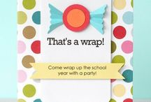 End of school party ideas / Party ideas