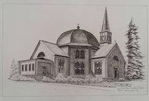 """Churches of the world"" / Bekende en minder bekende charakteristieke kerken"