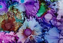 Alcohol inks