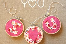 Hoop Art / Projects and diys using an embroidery hoop
