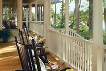Porch and decks / by Alexis Didier