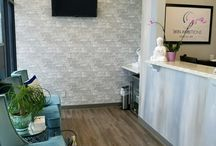 Our New Clinic / Take a look at our gorgeous new space designed by the owner, Olga Arnold.