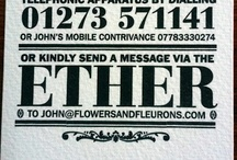 letterpress lettering