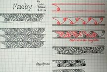 Zentangle | tutorials