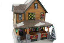 Dept 56 A Christmas Story Village