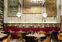 hospitality design. / Stunning interiors of hotels, restaurants and bars. / by brettVdesign - interior designer + blogger
