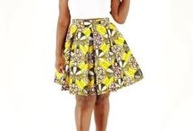 African Midi Skirts / Here you'll find our collection of midi skirts.