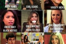 I love pretty little liars❤️ / Season 3 can't wait to see who a is.