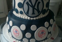 Cake---NFL--NBA--MLB-NHL / For the love of the game. Not all photos have instructions or info. If I liked it, I pinned it. / by Debora Clark