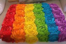 rainbow/unicorn theme