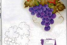 Estampas uva