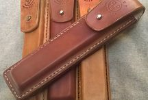 "my own projects / leather handicraft from ""RAST.Handmade"""