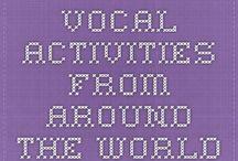 Vocal Explorations & Health