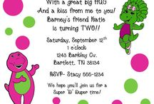 Party Barney Birthday