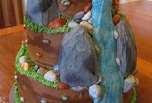 Rock climbing party
