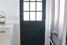 Guest Cottage Exterior and Interior Doors