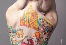 Disney Tattoos / http://fabulousdesign.net/disney-tattoos/