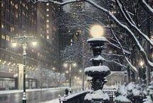 χιονισμενα τοπια