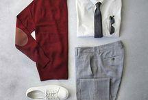 Garments on the floor