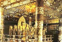 中尊寺の金色堂