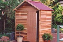 Timber Sheds / Rustic, Traditional, Beautiful are just three words to describe Timber/Cedar sheds. We love them and so do many others