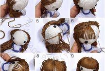 Vlasy pro panenky