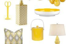 Yellow/Navy...for my kitchen / by Sir Rah V