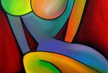 OEUVRES D ART / DESSINS TABLEAUX ETC...