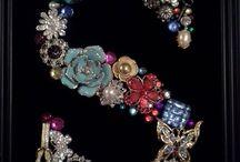 Buttons, Bows, & Broken Jewelry Art