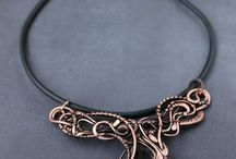 Wire wrapped jewerly