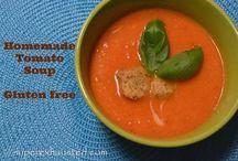 Recipes / Gluten free tomato soup