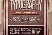 Tipografia • Design / Tipografia, fonte, typography.