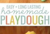 long lasting homemade playdough