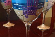 verres décor