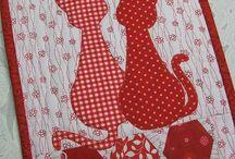 Mačky červené