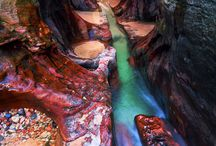 Zion / Hiking in Zion National Park