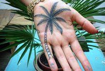 Handpalm tattoo