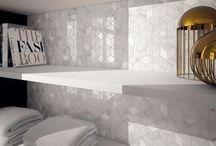 Effet marbre / Le marbre et sa tendance marquée pour l'élégance, revient au cœur des inspirations déco. #tendance #marbre #deco