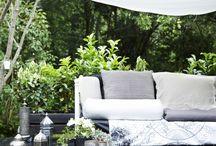Déco : Jardins et terrasses / Décoration terrasses et jardins