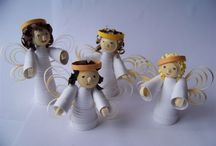 3D quilling about angels
