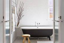 Salle de bain parquet
