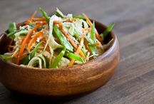 Asian Slaw with Ponzu Dressing