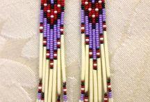 orecchini indiani d'america