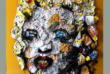 recylcle art