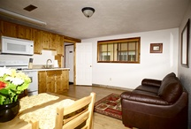 Twin Cabins / Moose Creek Ranch offers cabins with full kitchenettes that sleep 2-4 with full use of the Lodge and amenities  / by Moose Creek Ranch
