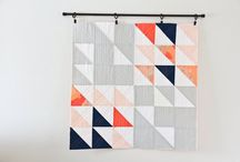 minimal quilts - grey
