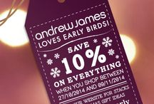 Competitions and Promotions / The place to go for all your Andrew James competitions and promotions.