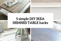 Hemnes coffee table hack