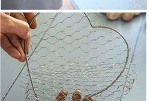 Crafts with wire
